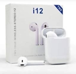 Título do anúncio: Fone de ouvido sem fio, via Bluetooth. Novo