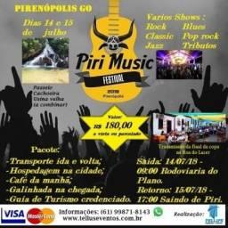 Excursão Pirenópolis - Hospedagem