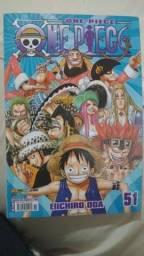 Mangá One Piece edição 51 - frete grátis