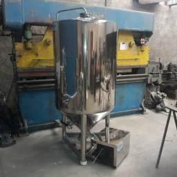 Fermentador 150l cerveja polido Inox aisi 304