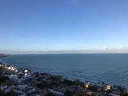 Riviera ponta negra, 56m2 beira mar todo mobiliado