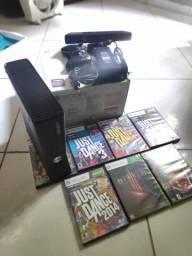 Xbox 360 + Kinect + Jogos Originais
