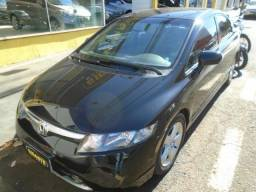 Honda Civic Sedan LXS 1.8 Preto - 2008