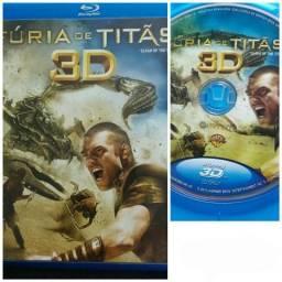 Bluray Furia de Titãs 3D Original