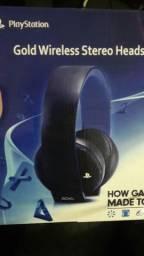 Headset gold 7.1 sony