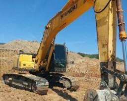 Escavadeira + ENTRADA + PARCELAS