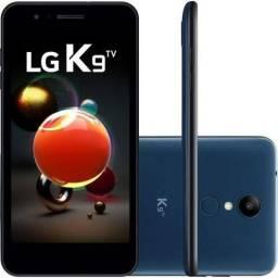LG K9 TV Índigo 16gb Dual Chip Quad Core 4g- Novo Lacrado Nota Fiscal