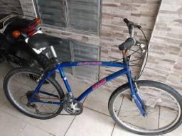 Bicicleta Caloi 100 Alumínio Azul Usada