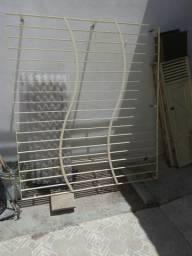 Janela Jatobá e grade janelão