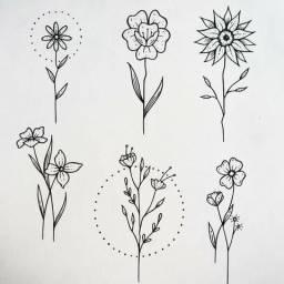 Flashes de tatuagem a partir de 50 reaisb
