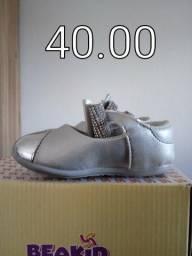 Sapato festa prata