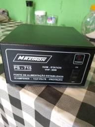 Fonte rádio maxtron 15 amperes