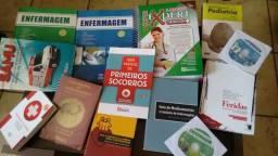 Livros curso de enfermagem