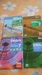 Livros do sétimo ano bem conservados 30 reais.