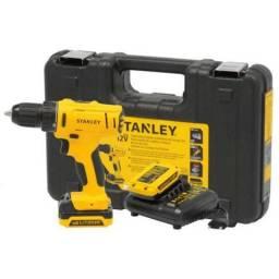 Furadeira Parafusadeira 2 Baterias 12v Bivot - Stanley (Loja)