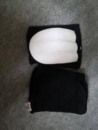Kit uniforme de goleiro futsal- joelheira+luvas+calça de goleiro