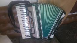 Acordeon Todeschini Super 6 Original Selo Verde