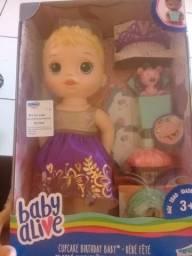 Baby Alive na caixa