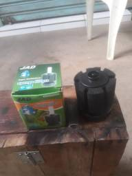 Filtro para bomba de aquario(aceitamos cartões)