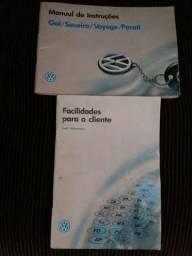 Manual gol/saveiro/voyage/parati 91 a 95