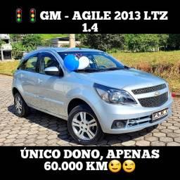 Agile 2013 Ltz 1.4, R$28.900,00;