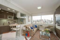 Apartamento à venda com 1 dormitórios em Petrópolis, Porto alegre cod:33843