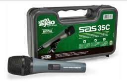 Microfone Unidirecional Santo Angelo SAS35C - 50Hz ~15KHz