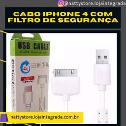 Cabo para iPhone 4 com filtro de segurança