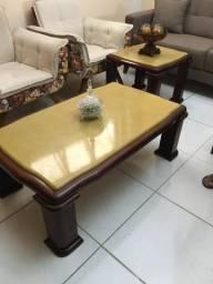 Mesa de centro e mesa lateral
