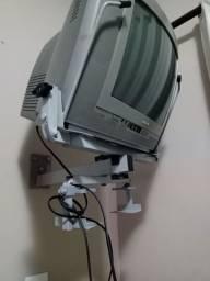 Philips 14 polegadas turbo usada/ incluído o suporte