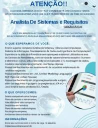 Vaga Analista de Sistemas e Requisitos