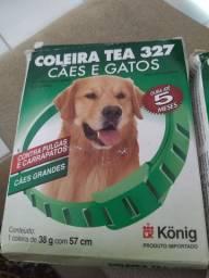 Coleira contra pulgas e carrapatos