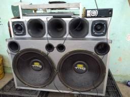 Promoção caixa de som completa
