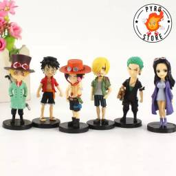 Coleção One Piece - Miniaturas