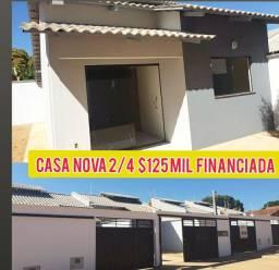Oportunidade casa 2/4 suite $125 mil
