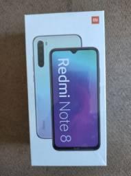 PRODÍGIO! Redmi Note 8 Xioami. Novo Lacrado com Garantia e Entrega hj