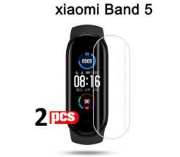 Kit 2 Películas Xiaomi Miband 4 ou 5 (sem Bolhas)