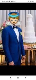 Lindo terno Raffer Azul Royal