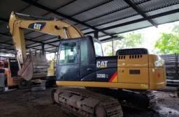 Escavadeira CAT 320D 2014 *Ate 120x
