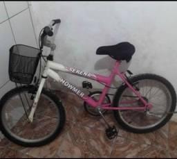Título do anúncio: Bicicleta de menina aro 16