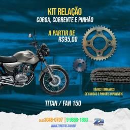 Kit Relação Titan / Fan 150