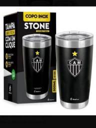 Título do anúncio: Copo Térmico Atlético Mineiro Stone Galo Cerveja Original