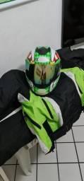 Roupa de motoqueiro