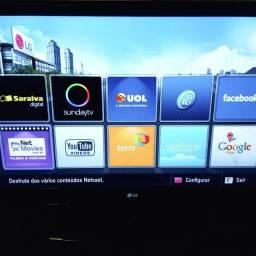 TV LG 42 polegadas com controle