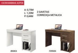 Mesa de escritório duas gavetas