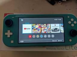 Título do anúncio: Nintendo swith lite + Bomberman R