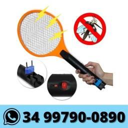 Título do anúncio: Raquete Elétrica Mata Mosquito Pernilongo Bivolt Recarregável
