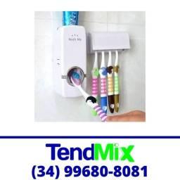 Título do anúncio: Dispenser Colgate Automático + Suporte Escova de Dente