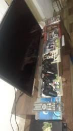 Playstation 3 com TV AOC
