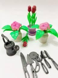 Kit Jardinagem - Escala 1/6 - Barbie